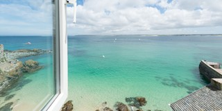Gaze across the whole of St Ives Bay